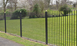 | Vertical Bar - Security Fencing