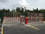 Para-T series rising traffic barrier with Hi-Bar curtain | Traffic Barriers up to 7m